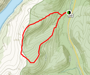 Geal Charn and A'Mharconaich Loop Map