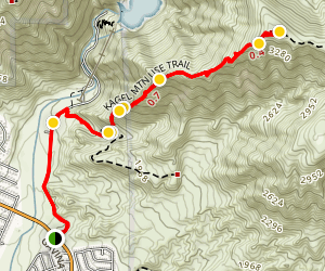 Kagel Mountain (CLOSED) Map
