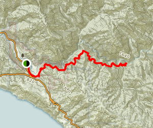 Pine Ridge Trail to Barlow Flat (CLOSED) Map