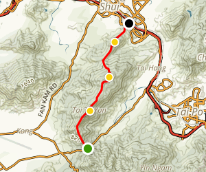 Tai To Yan Trail Map
