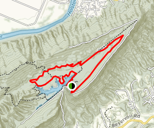 Bays Mountain Trail Loop Map