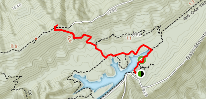 Bays Mountain Fire Tower Trail Map