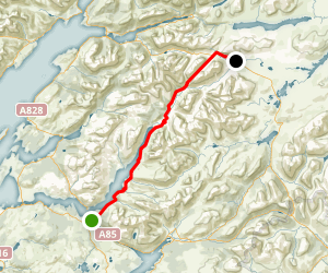 Glen Etive Map