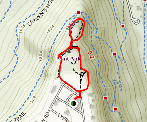 Point Park Loop Map
