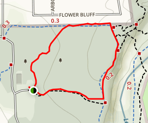 Leon Creek Vista Trail Map