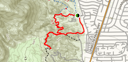 The Cross Trail Loop Map