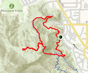 Bump and Grind Trail Map