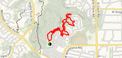 DORBA Dragonfly Trail Map