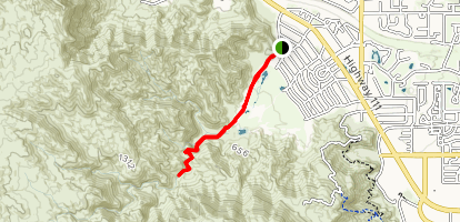 Magnesia Springs Canyon Map