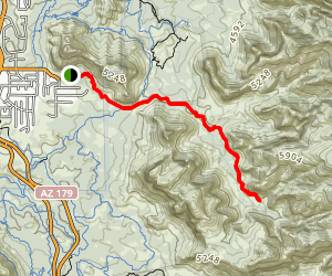 Jim Bryant Trail Map
