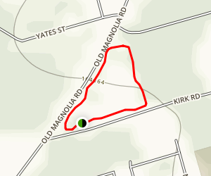 Kasmeirsky Park Loop Map
