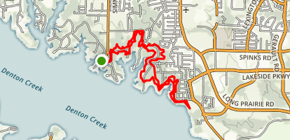 North Shore Trail East Map