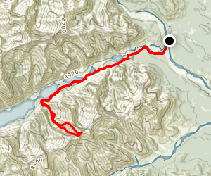 Saddle Peak Map