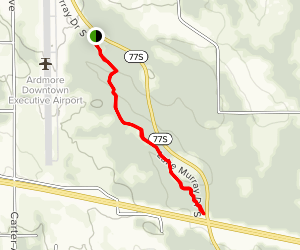 New Deal Trail Map