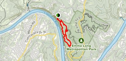 Ridge Trail (PRIVATE PROPERTY) Map