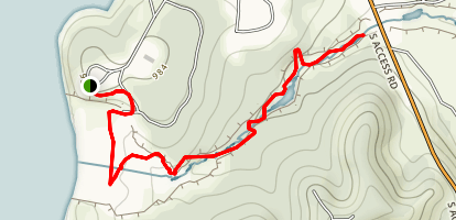 Canyon Gorge Map