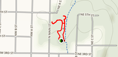 Compton Gardens Trail Map