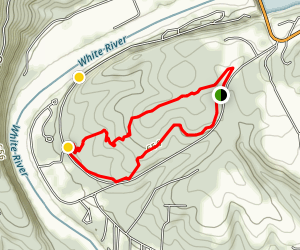 Oakridge Mountain Bike Trail Map