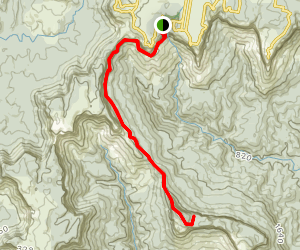 Furber Stairs to Mount Solitary Map
