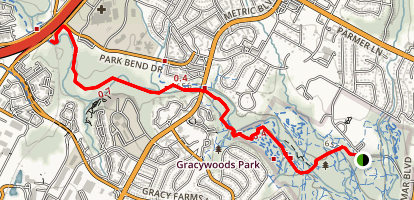 Northern Walnut Creek Trail Map