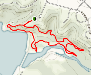 The Dam Drop Loop Map