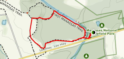 Stone Bridge Loop Map