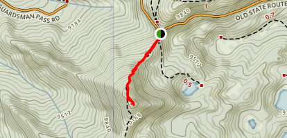 Clayton's Peak Map