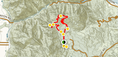 Sardine Peak Ogden Outlook Trail Map