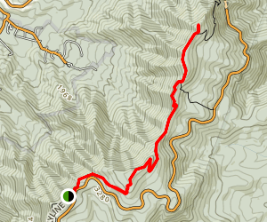Marys Rock via Pinnacle Picnic Grounds Map