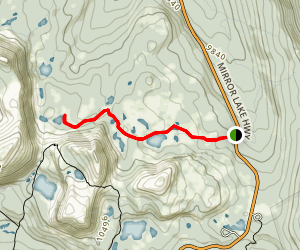 Cutthroat Lake Map
