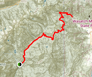 Tibble Fork to Midway Map