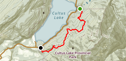 Watt Creek Horse Trail Map