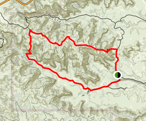 Lower to Upper Canyon Trail Map