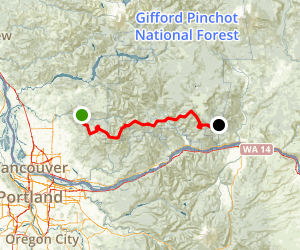 Chinook Trail: Section One Map