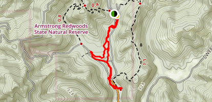 Pioneer Nature Trail Map