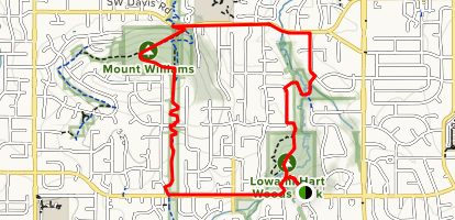 Lowami Hart Woods To Mount Williams To Burntwood Loop Oregon