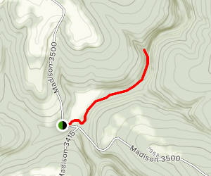 Kings River Falls Trail Map