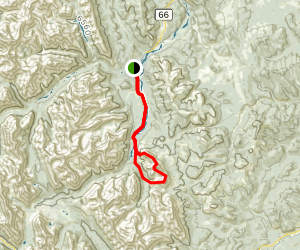 Mount Threepoint and Mount Rose Loop Map