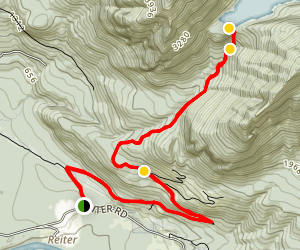 Lake Isabel Trail Map