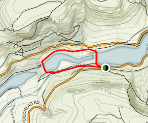 Rhodswood Reservoir  Map