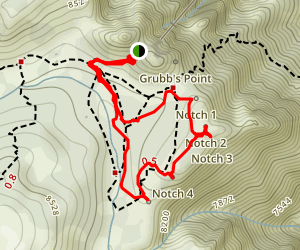 Desert View Trail Map