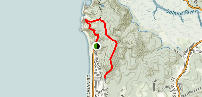 Roads End Scenic Trail Map