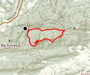 Boundary Trail Map