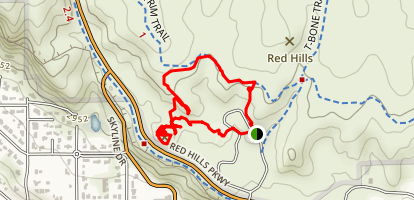 Pioneer Park and Sugarloaf Loop Map