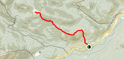 Bluerock Knob Trail Map