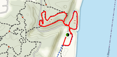 Cliff Cave Loops Map