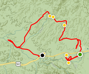 Happy Camping Canyon Roads Map