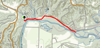 Rock Hollow Greenway and Al Foster Trail Map