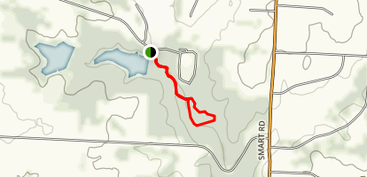 Shawnee Trace Nature Trail Map