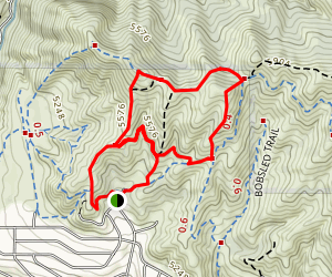 Terrace Trail to Valley View Loop Map